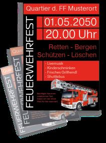 Feuerwehrfest Feuerwehr Einweihung Schwarz