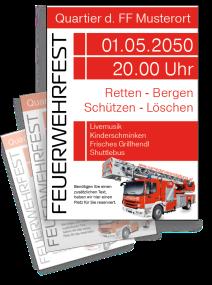 Feuerwehrfest Feuerwehr Einweihung Weiss