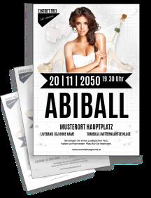 flyer-abiball-legendary-nights-a4-silber-zweiseitig