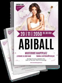 flyer-abiball-legendary-nights-a4-violett-zweiseitig