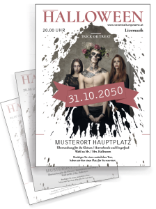flyer-halloween-mr-adam-rot-a4