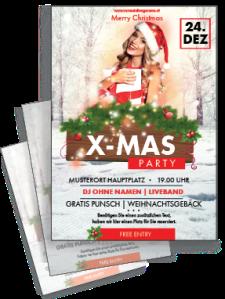 flyer-weihnachten-weihnachtsengerl-rot-a4