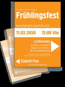 Fruehlingsfest Farben Orange