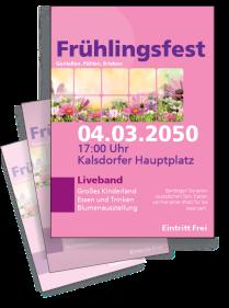 Fruehlingsfest Natur Violett