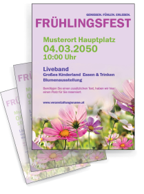 Fruehlingsfest Pflanzenwelt Violett
