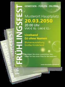 Fruehlingsfest Water Bubbles Gruen