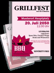 Grillfest BBQ Pink