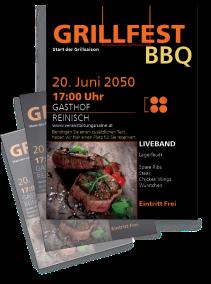 Grillfest Delicious BBQ Steak Gold