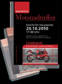 Motorsportevent Biker Meeting Rot