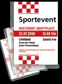 Motorsportevent Ziellinie Rot
