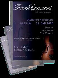 Musikfest Geige Violett