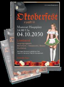 Oktoberfest Fesche Madln Rot