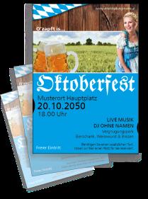 Oktoberfest German Blau