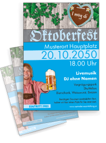 flyer oktoberfest flyer. Black Bedroom Furniture Sets. Home Design Ideas