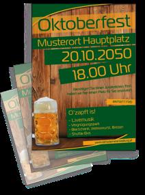 Oktoberfest Zünftig und Urig Gruen