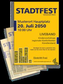 Stadtfest City Gelb