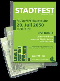 Stadtfest City Gruen