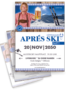 flyer-apres-ski-rustical-party-blau-a4-zweiseitig