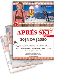 flyer-apres-ski-rustical-party-rot-a4-zweiseitig